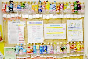 清涼飲料水に含まれるカーボハイドレイト